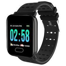 Track My Blood Pressure Makibes Hr4 Smartwatch 1 3 Inch Tft Screen Heart Rate Monitor Black
