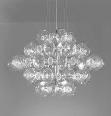Modern Clear And Coloured Italian Glass Pendant Light