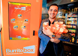 Burrito Vending Machine Franchise Extraordinary Upscale Boom For Vending Machines Albuquerque Journal
