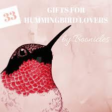 33 unique hummingbird gifts for bird