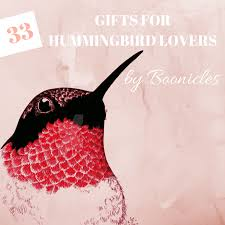 33 unique hummingbird gifts for bird
