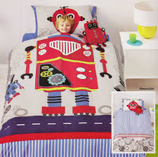 robot bedding  kids bedding dreams