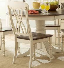 antique white dining room sets. Homelegance Ohana 5 Piece Round Dining Room Set In White/ Cherry Antique White Sets B