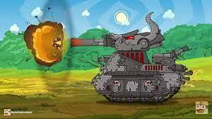 Hoạt hình về xe tăng # 1/ tập 1 - YouTube
