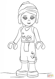 Small Picture Lego Friends Mia coloring page Free Printable Coloring Pages