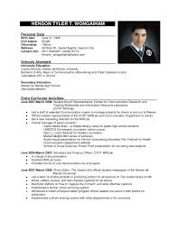 6+Resume Layout Sample | Malawi Research