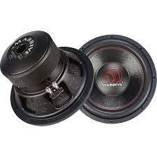 Massive Audio Massive GTX Series 12-Inch 1,000-Watt-RMS Dual 4-Ohm Subwoofer  Black Black GTX 124R - Best Buy