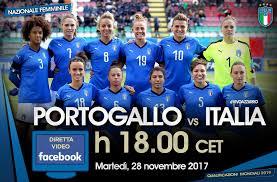 Dove vedere Italia Portogallo femminile streaming, tuttte le informazioni