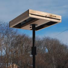 woodlink cedar platform bird feeder