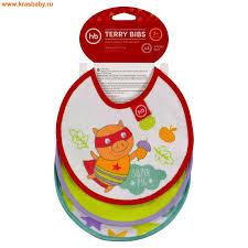 <b>Happy Baby</b>  <b>Набор нагрудников</b> TERRY BIBS в магазине www ...
