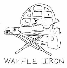 Waffles Coloring Sheets Yahoo Image Search