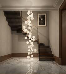 staircase lighting design. 155 E79th Street Development \u2014 Pembrooke \u0026 Ives Staircase Lighting Design