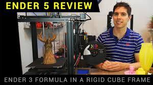 <b>Creality Ender 5</b> review - The best Ender 3d printer?