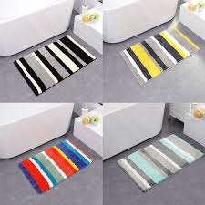 details about bath rugs non slip bathroom mats microfiber shower machine washable easy clean