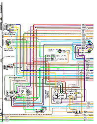 color wiring diagram finished the 1947 present chevrolet & gmc 1973 Chevy Pickup Wiring Diagram at 1971 Chevy Pickup Wiring Diagram Free Picture