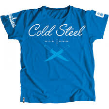 <b>Футболка COLD STEEL CROSS</b> GUARD BLUE TEE FOR WOMEN (L)