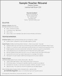 30 Fresh Sample Resume For Fresher Teachers Job Jonahfeingold Com