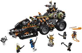 Amazon.com: LEGO NINJAGO Masters of Spinjitzu: Dieselnaut 70654 Ninja  Warrior Toy and Playset, Fun Building Kit with Brick Battle Tank Vehicle  (1179 Pieces) (Discontinued by Manufacturer): Toys & Games
