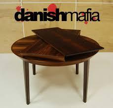 stunning danish round dining table decorative mid century rosewood