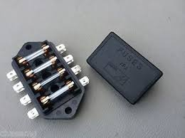 fuse box inc fuses mgb midget 1969 onwards lucas branded product mgb fuse box image is loading fuse box inc fuses mgb midget 1969 onwards