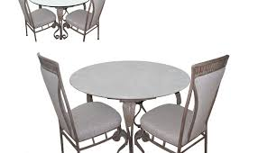 dining white tables set chair room table chairs arctic black round glass clear kitchen extending and