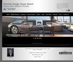 Porsche Design Website Porsche Design Tower Miami Competitors Revenue And