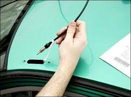 installing a car antenna antenna install