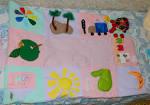 Развивающие детские коврики мастер класс