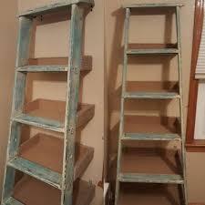 furniture ladder shelves. repurposed ladder shelf project repurposing upcycling shelving ideas storage furniture shelves
