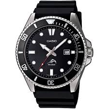 casio men s dive style watch black resin strap walmart com casio men s dive style watch black resin strap