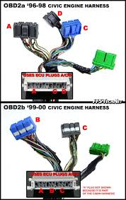 wiring diagram needed for green plug pin ecu side honda tech