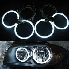 Halo Light Kits For Cars 4pcs Set 105mm White Blue Yellow Green Red Car Ccfl Halo