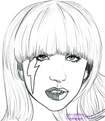 lady gaga coloring pages. Interesting Gaga Lady Gaga Coloring Pages How To Draw From And The  Tramp Surprising Colouring Inside V