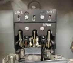 ge combination magnetic starter cr v max complete enclosure ge combination magnetic starter cr308 600v max complete enclosure 300 line control