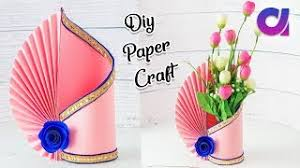 Flower Vase With Paper