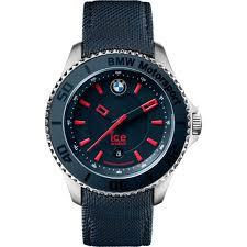 ice watch bm brd u l 14 men s bmw motorsport leather navy blue dial