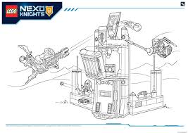 Small Picture Lego Nexo Knights file page6 Coloring pages Printable