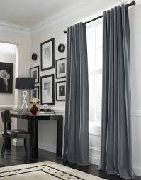 I decided I want grey curtains in the living room like this... now