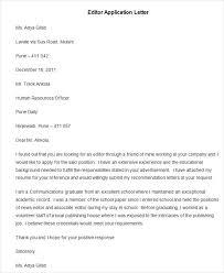94 Best Free Application Letter Templates Samples Pdf