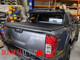 Loaded Sports Roll Bar With Roof Top Basket Suitable For Nissan Navara Np300 2015 2019