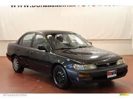 1993 Black Metallic Toyota Corolla #65971114 | GTCarLot.com - Car ...