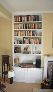 wall niche inserts living room alcove shelving ideas decorating