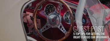 classic car insurance header