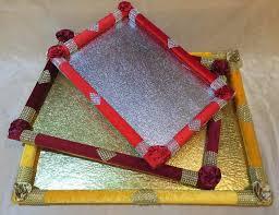 Saree Tray Decoration Buy Saree Packing Flower Tray from Rishabh Enterprises Delhi India 6