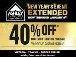 Ashley Furniture New Years Event Sale