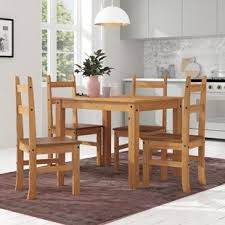 whipton budget dining table and 4 chairs