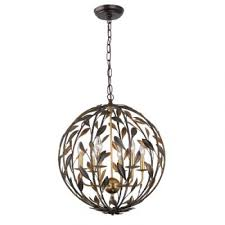 crystorama broche 6 light english bronze antique gold sphere chandelier