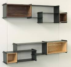 Decorating: Cool Unique Shelving Units With Contemporary Wall .
