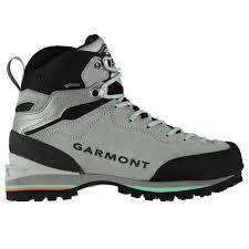 Details About Garmont Ascent Gtx Walking Boots Womens Grey Hiking Trekking Shoes Footwear