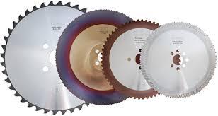 Cold Saw Blade Chart Metal Cutting Circular Saw Blades